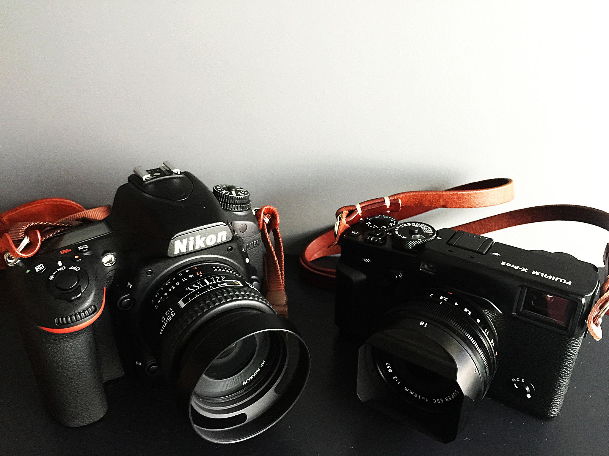 Nikon D750 VS X-Pro2