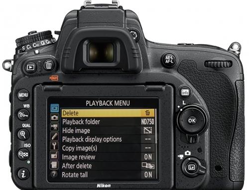 Configurando a Nikon D750