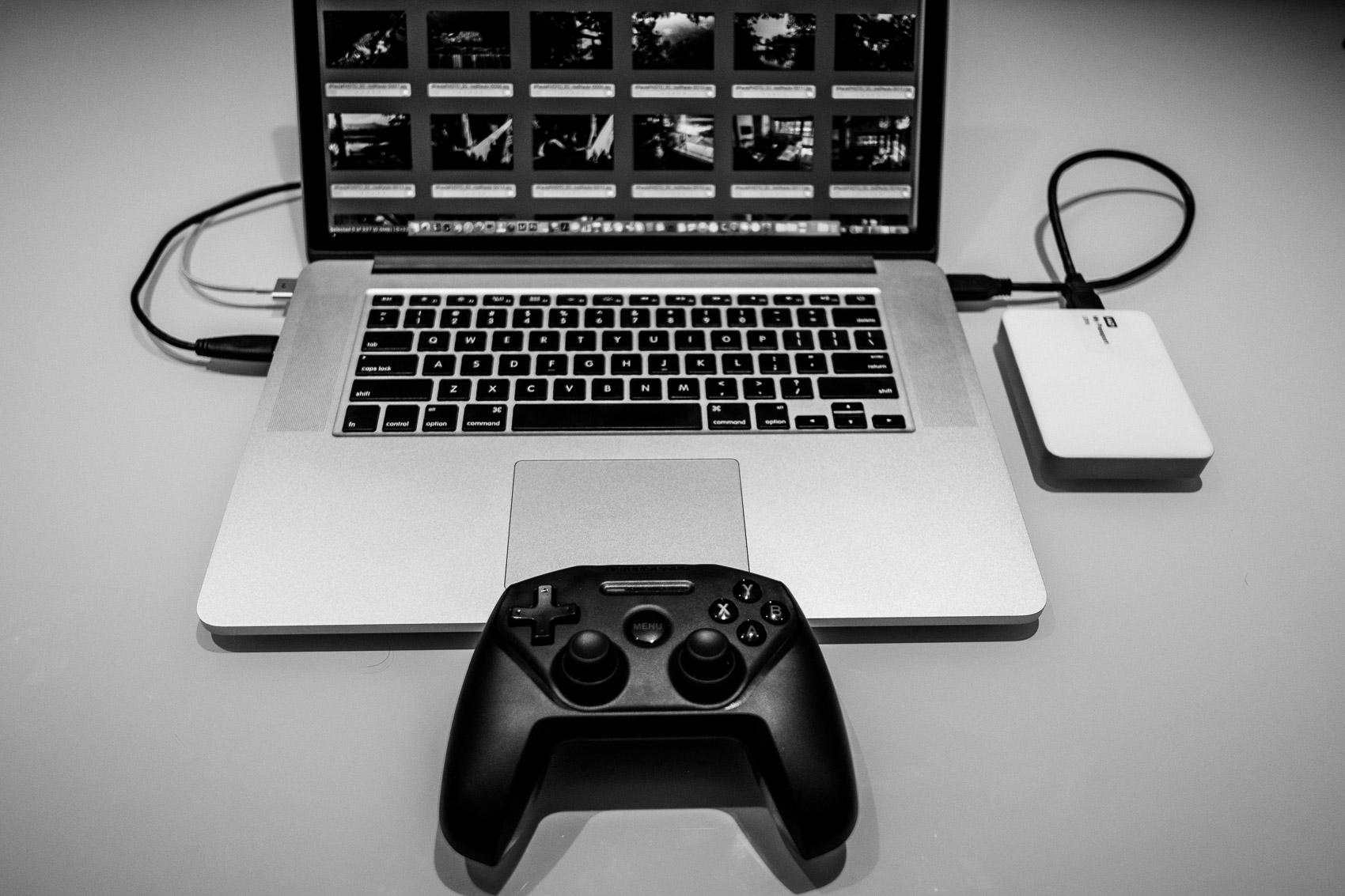 Edição de fotos mais rápida com controle joystick no photomechanic