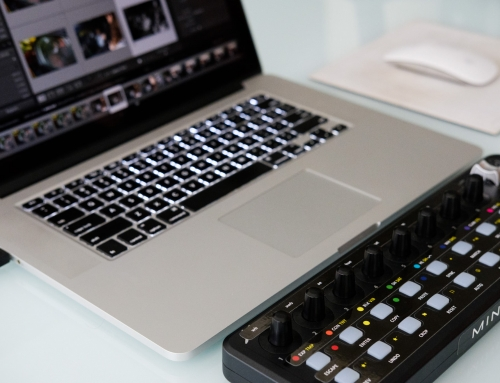 Tratando fotos usando uma mesa Midi no Adobe Lightroom